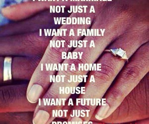 marriage, family, and future image