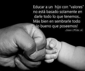valores, padres, and educacion image
