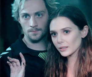 Avengers, quicksilver, and scarlet witch image