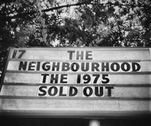 the 1975, the neighbourhood, and band image