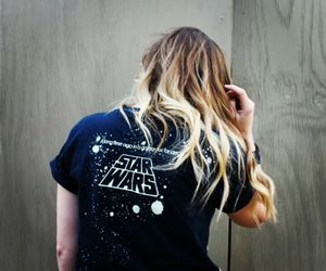 blonde, galaxy, and hair image