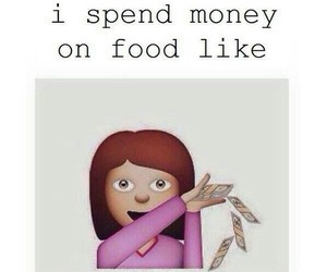 food and money image