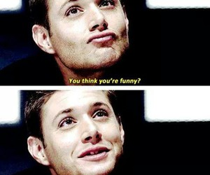adorable, dean winchester, and funny image