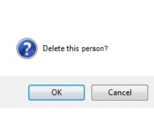 delete, person, and quotes image