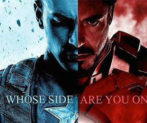 captain america, iron man, and Avengers image