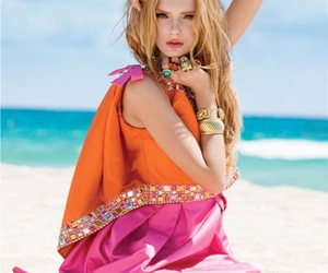 beach, model, and Lily Donaldson image