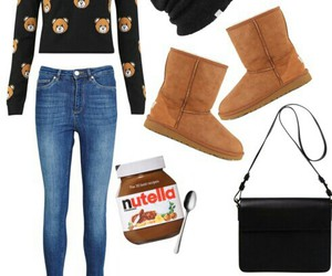 Moschino, nutella, and outfit image