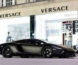 car, Versace, and luxury image