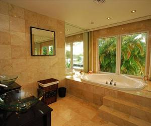 architecture, bathroom, and beautiful image