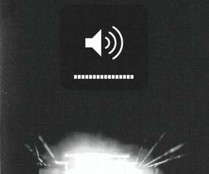 music, concert, and volume image