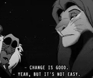 change, lion king, and simba image