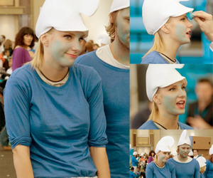 glee, smurfs, and smurf image