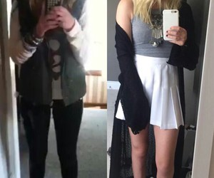 bea miller, outfit, and hair image