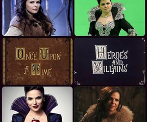 once, once upon a time, and snow white image