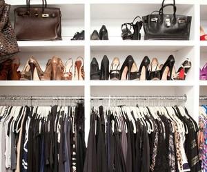 fashion, closet, and bag image