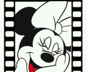 disney and minnie mouse image