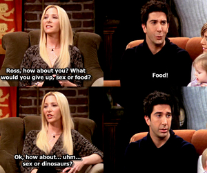 food, ross, and funny image