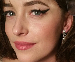 dakota johnson, met gala, and fifty shades of grey image