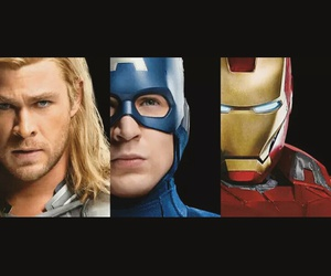 iron man, Marvel, and the avengers image