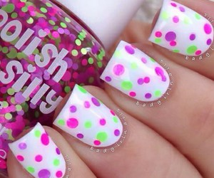 nails, pink, and points image
