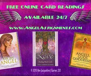 affirmations, rev jacqueline j garner, and angel intuitive image