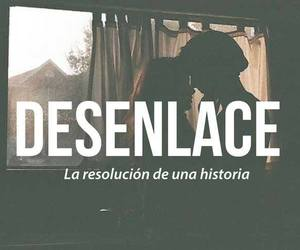 desenlace, words, and historia image