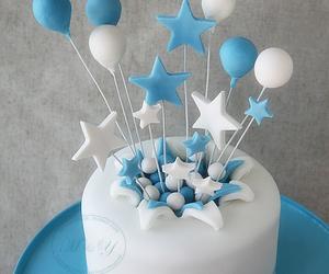balloon, cake, and food image