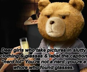 TED, funny, and nerd image