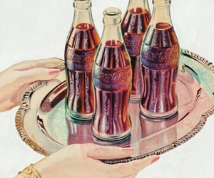 cocacola and vintage image