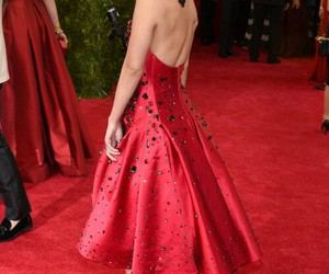vanessa hudgens, red, and met gala image