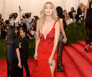 model, met gala, and gigi hadid image