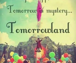 Tomorrowland, gift, and party image