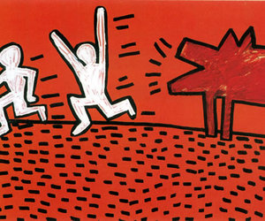 art, keith haring, and aethetic image