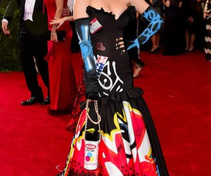 katy perry, Moschino, and met gala image