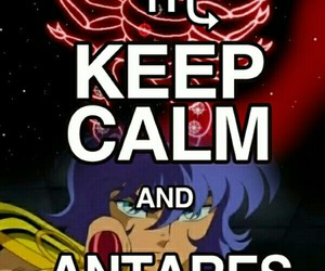 anime, cdz, and keep calm image