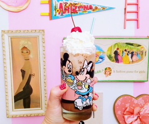 disney, glassware, and sweets image
