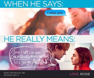 awww, texting, and love rosie image