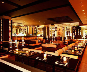 bar, modern, and restaurant image