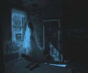 creepy, dark, and dress image