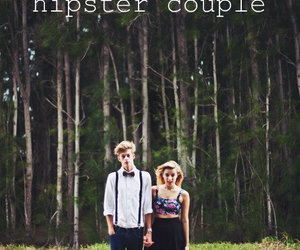 couple, fashion, and hipster image