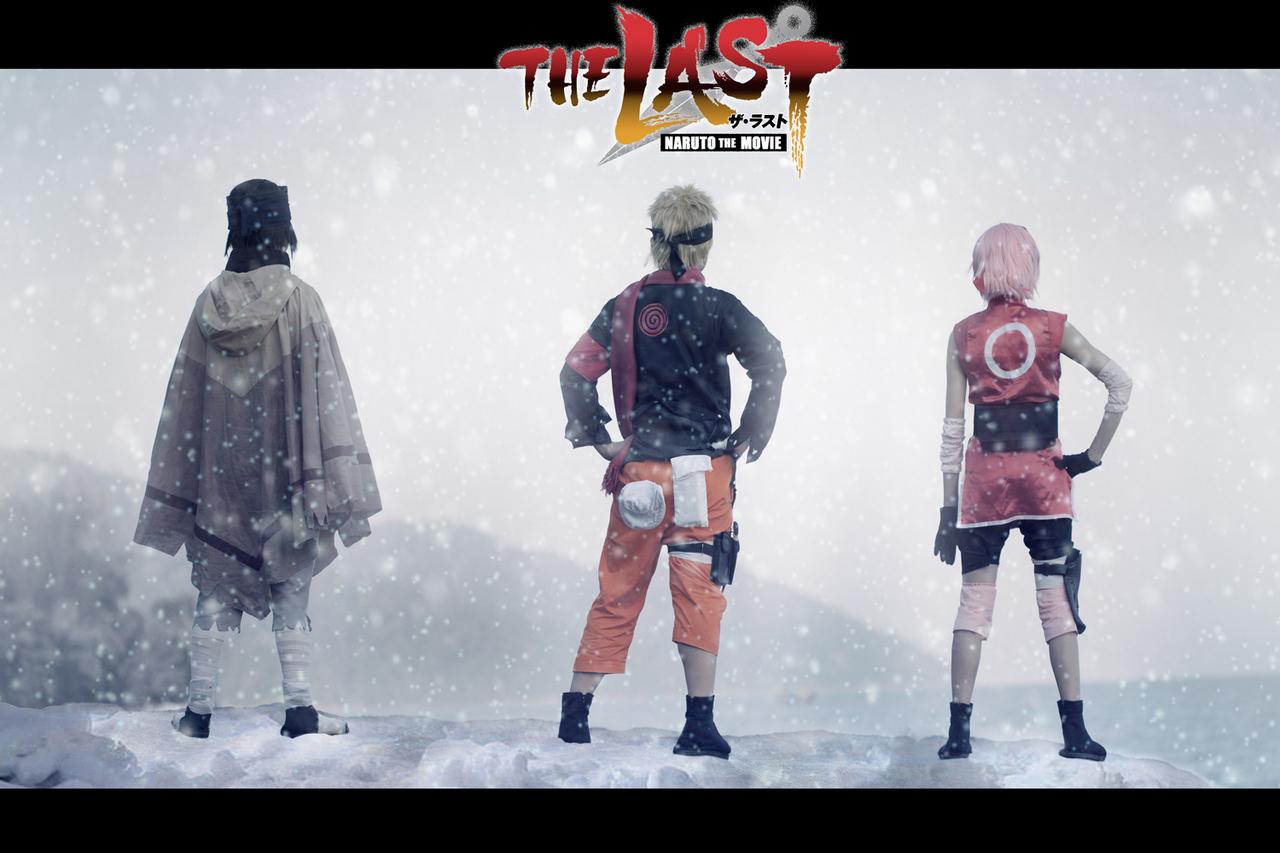 Naruto The Last Movie Uchiha Sasuke Sakura Cosplay 宇智波佐助