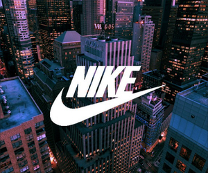 city, nike, and Towers image