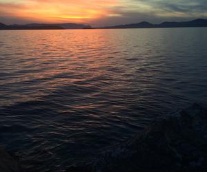 Greece, sea, and euvoia image