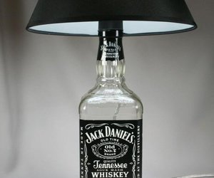 jack daniels, lamp, and light image