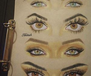 eyes, Gigi, and rihanna image