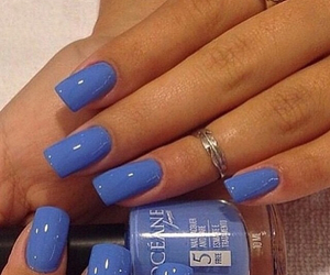 blue, girl, and pretty image