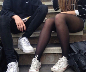 legs grunge boy girl image