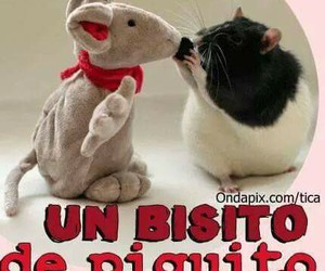 Besos, besito, and love image