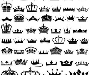 crown, tattoo, and design ideas image