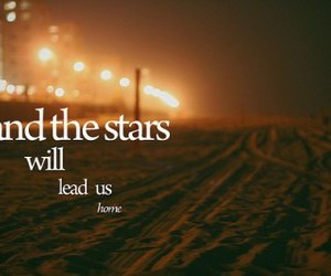 text, stars, and quote image